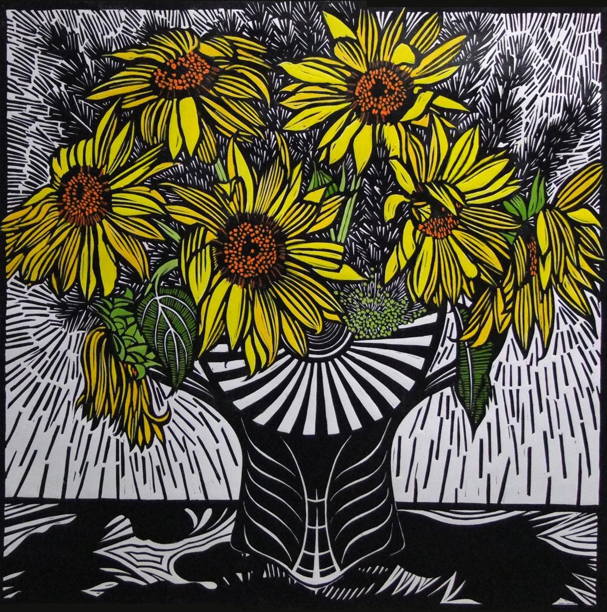 Sunflowers | 70cm w x 70cm h