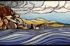 Past Wright to Granite island - Victor Harbor | 75cm w x 40cm h