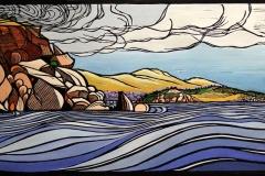 Past Wright to Granite island - Victor Harbor | 75cm w x 40cm h