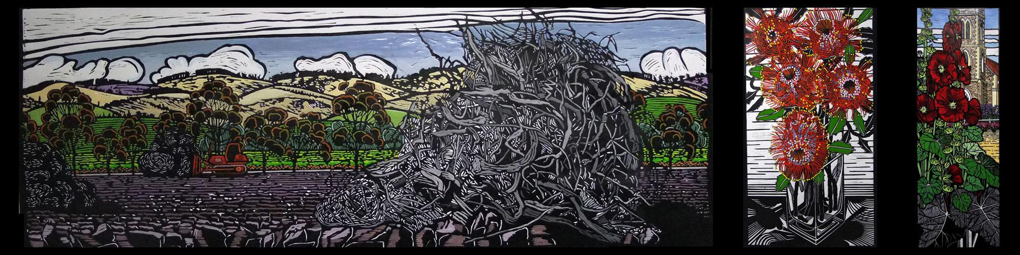 Gail Kellett SA Lino Artist3