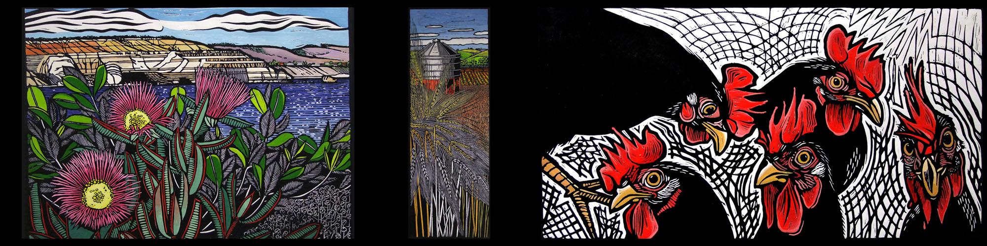 Gail Kellett SA Lino Artist4