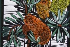 Banksia Marginata | 30cm w x 55cm h