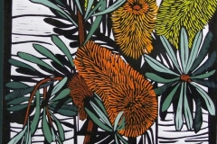 Banksia Marginata | 30cm w x 55cm h | Sold out