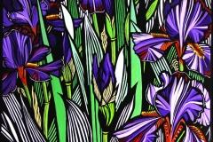 Iris | 65cm w x 85cm h | $900 unframed